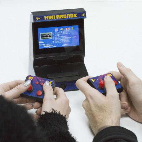 Borne d'Arcade Rétro-Gaming Deux Joueurs - Manettes Sans Fil - 300 Jeux 8-bit