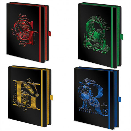 Carnet de Notes Premium Harry Potter - Maisons