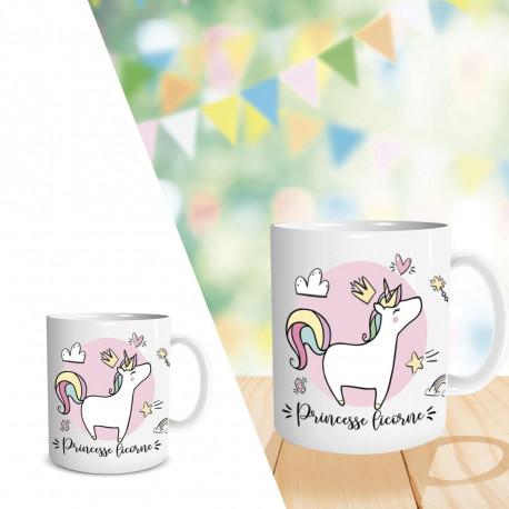 Mug Princesse Licorne
