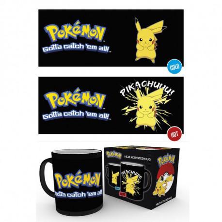 Mug Thermoréactif Pikachu Pokémon