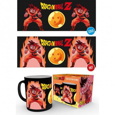 Mug Thermoréactif Dragon Ball Z - Super Saiyan