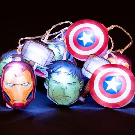 Guirlande Lumineuse Marvel Avengers
