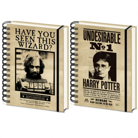 Carnet de Notes Harry Potter - Sirius Black Effet Animé 3D