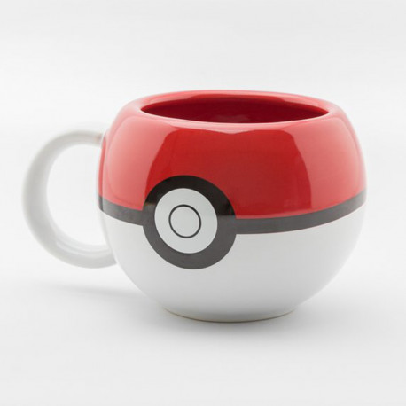Mug 3D Pokeball Pokémon