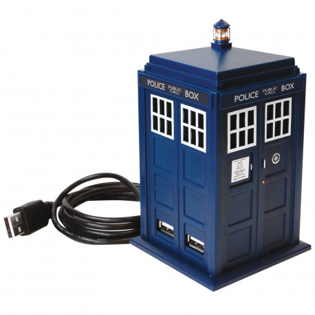 Hub Usb Docteur Who Tardis