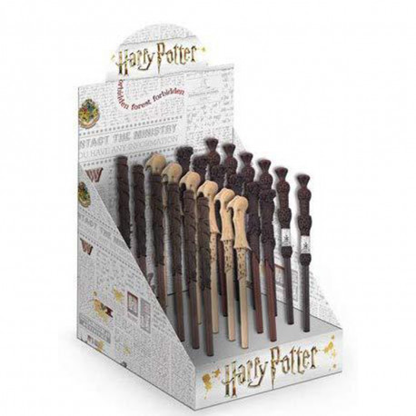 Display de 24 Stylos Baguettes Magiques Harry Potter