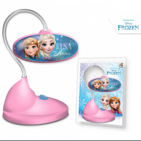 Lampe de Bureau Led La Reine des Neiges