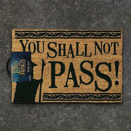 Paillasson Seigneur des Anneaux - You shall not pass