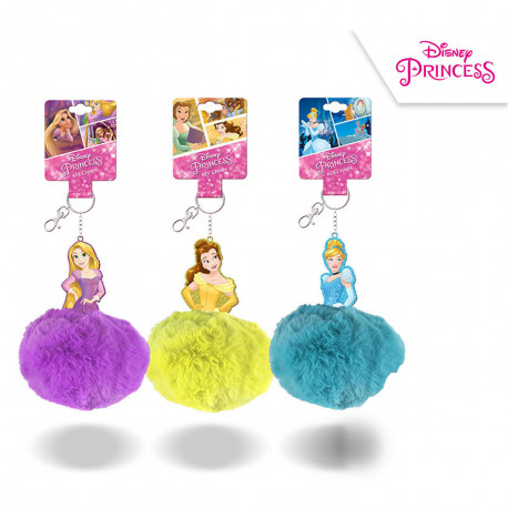 Porte-Clés Disney Pompon Princesse