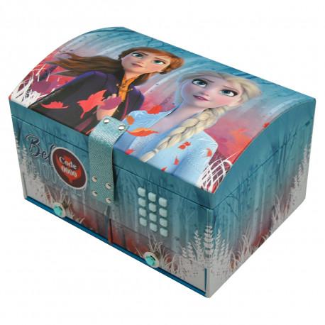 Boîte à Bijoux Musicale La Reine des Neiges 2 avec Code Secret