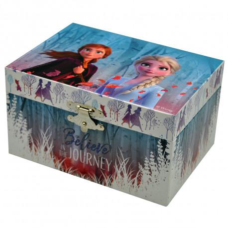 Boîte à Bijoux Musicale La Reine des Neiges 2 Rectangulaire