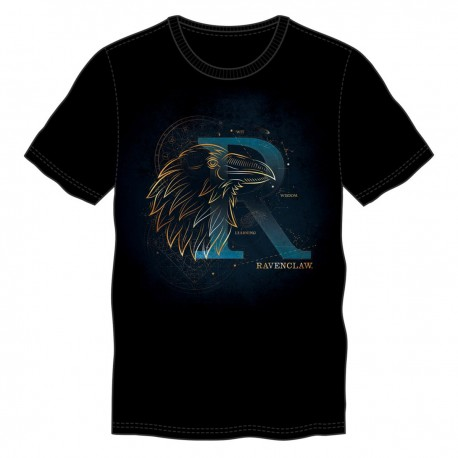T-Shirt Phosphorescent Harry Potter Serdaigle