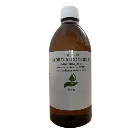 Solution Hydro-Alcoolique 500 ml