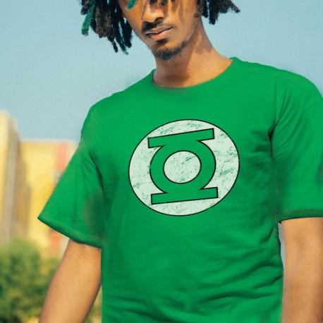 T-shirt Green Lantern Logo Effet Vintage