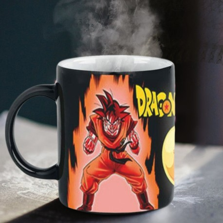 Mug Thermoréactif Dragon Ball Z - Super Saiyan