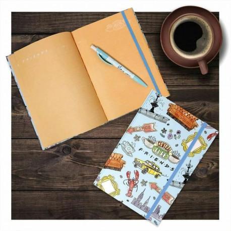 Set Carnet de Notes et Stylo Friends Central Perk