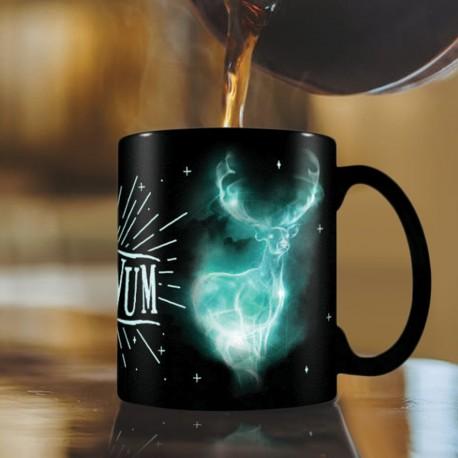 Mug Phosphorescent Harry Potter Expecto Patronum