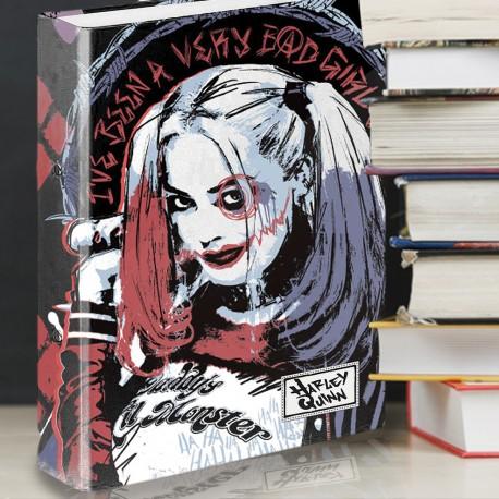 Classeur A4 Harley Quinn à 4 Anneaux