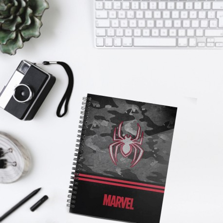 Carnet Spirales A5 Spiderman Marvel