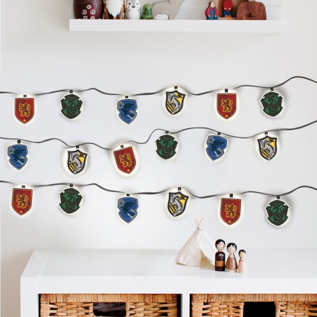 Guirlande Lumineuse Harry Potter Maisons Poudlard