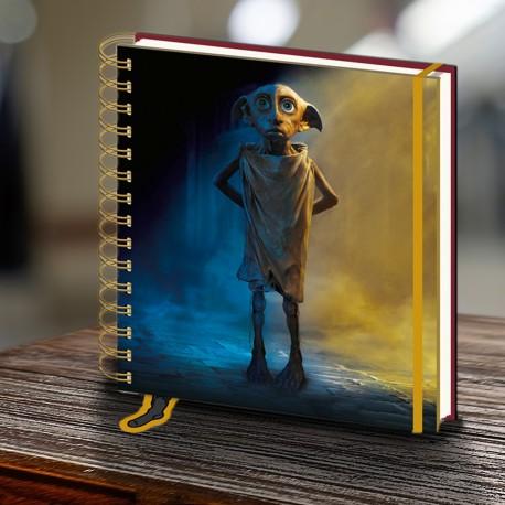 Carnet à Spirales Harry Potter Dobby