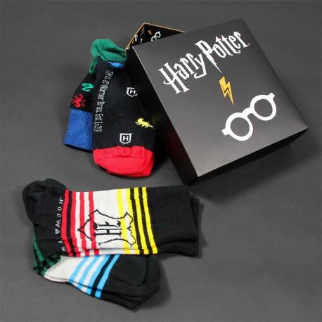 Coffret 3 Chaussettes Harry Potter