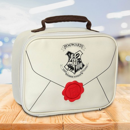 Lunch Bag Harry Potter Lettre d'Admission Poudlard