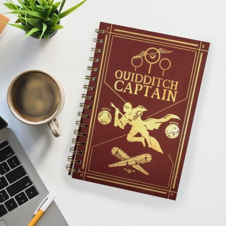 Carnet de Notes Harry Potter Captain Quidditch