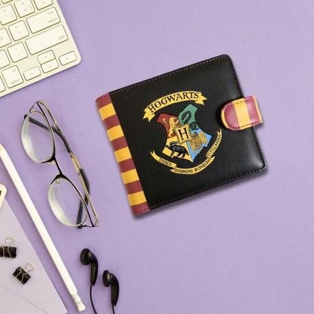 Portefeuille à l'Anglaise Harry Potter Blason Poudlard