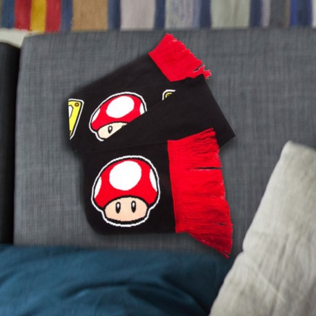 Écharpe Super Mario Bros Nintendo