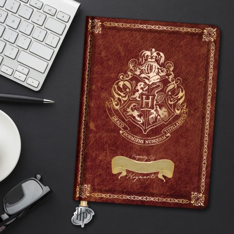 Carnet de notes A5 Harry Potter Poudlard à Personnaliser