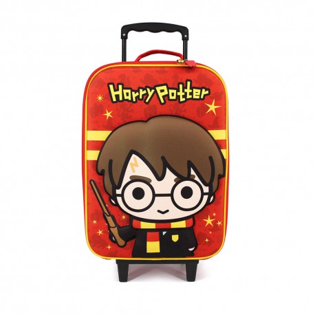 Valise à Roulettes Enfant Harry Potter Chibi