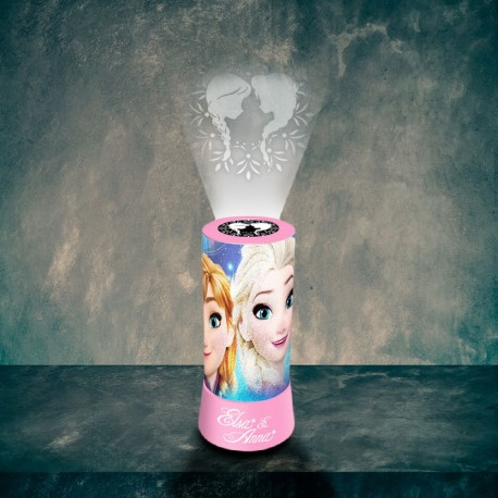 Lampe Projection La Reine des Neiges Disney