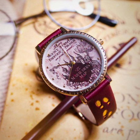 Montre Harry Potter Carte du Maraudeur