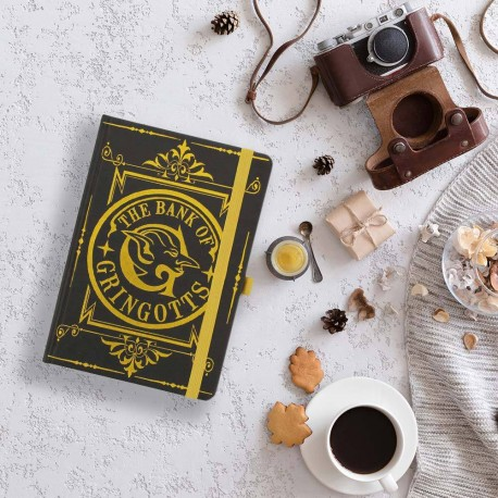 Carnet de Notes Deluxe Harry Potter - The Bank of Gringotts