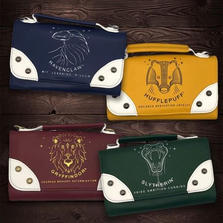 Pochette Portefeuille Harry Potter Maisons Poudlard