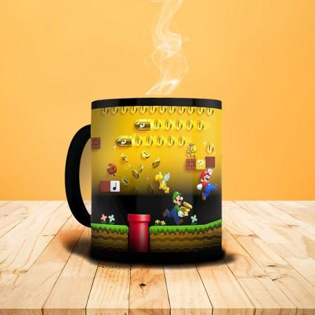 Mug Thermoréactif Super Mario Nintendo - Ruée vers l'or