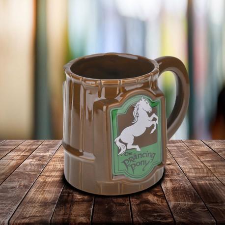Mug 3D Poney Fringant Le Seigneur des Anneaux 500 ml