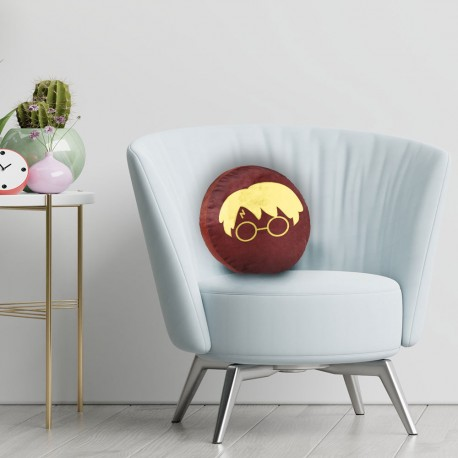 Coussin Rond Harry Potter