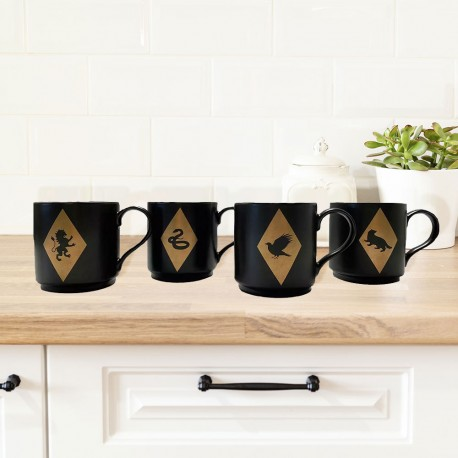 Tasses Empilables Harry Potter Maisons Poudlard