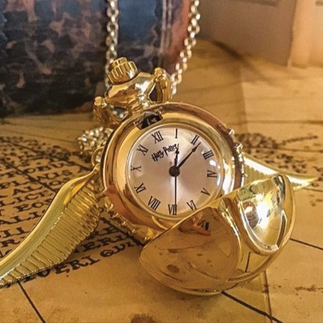 Collier Harry Potter Montre Retourneur de Temps 3D Premium