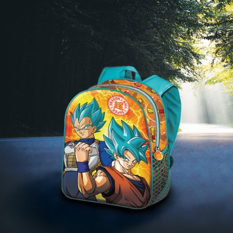 Sac à Dos Dragon Ball Super 3D - Son Goku & Vegeta