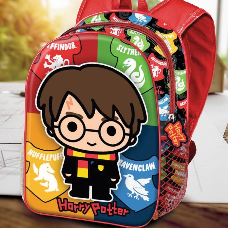 Sac à Dos Harry Potter 3D Chibi