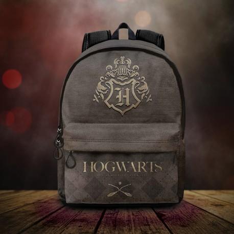 Sac à Dos Harry Potter Poudlard Marron et Bronze