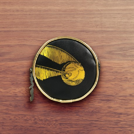 Petit Porte-Monnaie Rond Harry Potter Vif d'Or