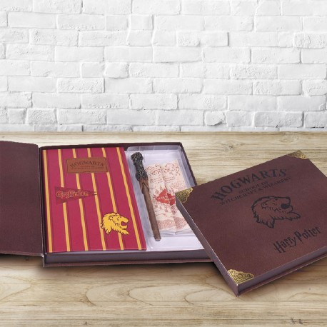Set Papeterie Harry Potter avec Carte du Maraudeur