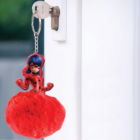 Porte-Clés Miraculous Pompon Lady Bug