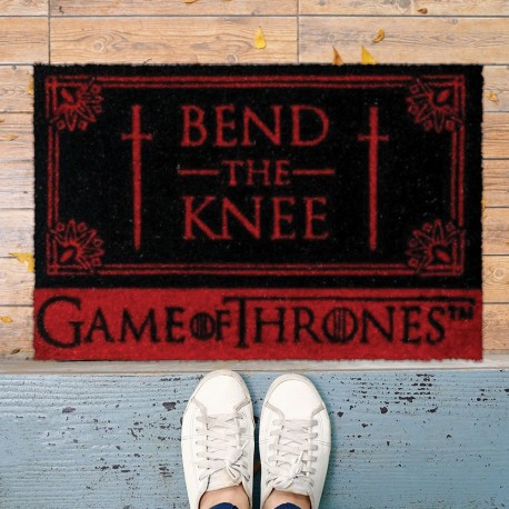 Paillasson Game of Thrones - Bend the Knee