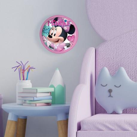 Veilleuse Poussoir Minnie Disney