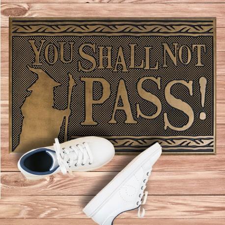 Paillasson Caoutchouc Seigneur des Anneaux - You Shall Not Pass